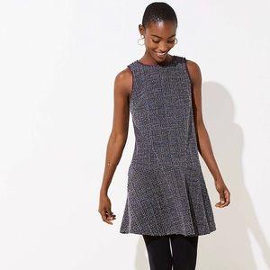 Tweed floppy dress